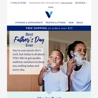 The perfect Father's Day starts here