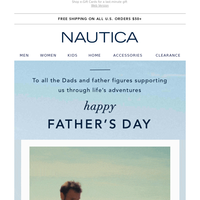 Happy Father's Day from Nautica