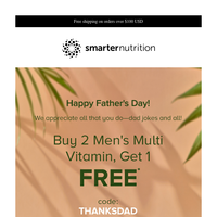 An Exclusive Deal for Dad's Day!
