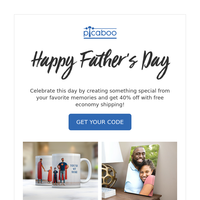 Father's Day Special: 40% Off, Free Shipping, and More!