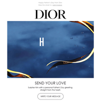 Happy Father's Day from Dior