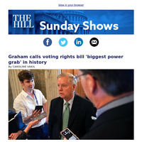 Sunday shows - Voting rights, infrastructure in the spotlight