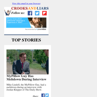 Crooks and Liars Daily Update For 06/20/2021