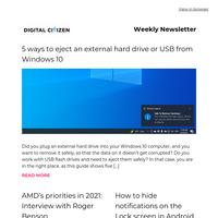 Last week's articles on Digital Citizen