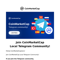 Join CoinMarketCap Local Telegram Community!