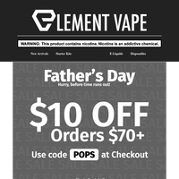 Father's Day Deals Ending: Save Sitewide & FREE Tank