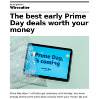 The best early Prime Day deals
