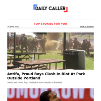 Antifa, Proud Boys Clash In Riot At Park Outside Portland