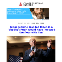 Judge Jeanine says Joe Biden is a 'puppet'; Putin would have 'mopped the floor with him'