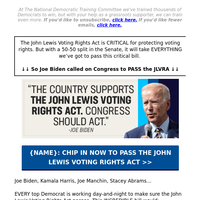 😱 Joe Biden AMAZED us!!! (it's about the John Lewis Voting Rights Act >>)