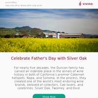 Happy Father's Day: A Special Winery Guest!