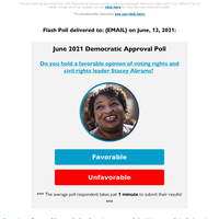 LIVE POLL re: Stacey Abrams