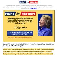 Hillary Clinton: Big Announcement →