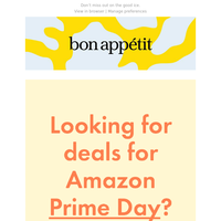 The Prime Day Kitchen Deals We're Snapping Up