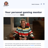 Your personal gaming mentor
