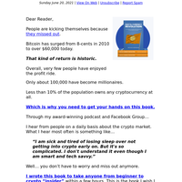 re: your free crypto book access...