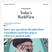 Today's WorldView: Iran's hard-liners consolidate power