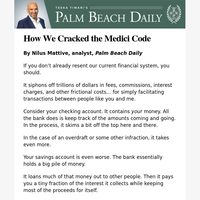 How We Cracked the Medici Code