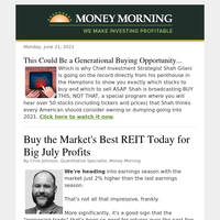 Nab the market's best REIT right now