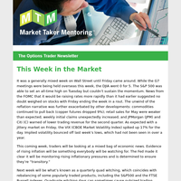 MTM Options Trader Newsletter - Calendar Spread and Long Calendar Option Strategies