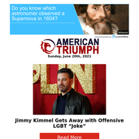 Jimmy Kimmel Gets Away with Offensive LGBT \