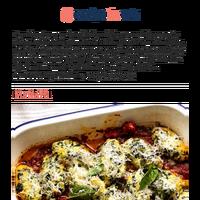 Malfatti - Italian spinach ricotta dumplings!
