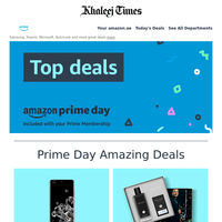 Prime Day is here! Huge deals on everything