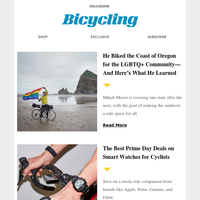 He Biked the Coast of Oregon for the LGBTQ+ Community—And Here's What He Learned