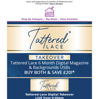 Your first look at Tattered Lace's Digital Takeover!