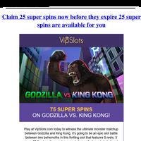 {NAME}, Get 25 super spins