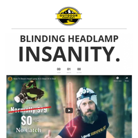 Friend, where can I send your free $79 Headlamp?