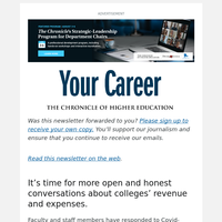 Your Career: How Much Do You Know About Your College's Finances?