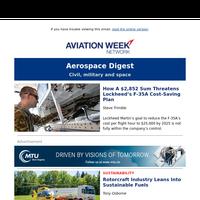 How a $2,852 sum threatens Lockheed's F-35A cost-saving plan