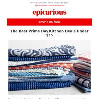 The best Prime Day kitchen deals under $25