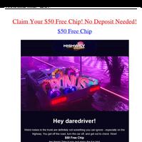 Your $50 Free Chip is Expiring: (Sun, 20 Jun 2021 19:28:15 -0400)
