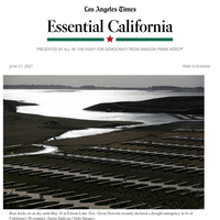 Essential California: Earthy-tasting water?