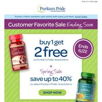 Final Days: Buy 1 Get 2 FREE
