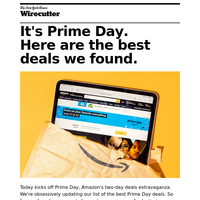 It's Prime Day! Here are the best deals.