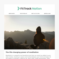The life-changing power of meditation