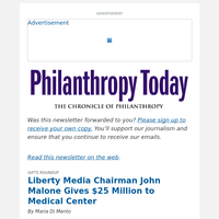 Liberty Media Chairman Gives $25 Million to Medical Center