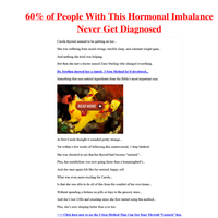 A Weak Thyroid Making You Exhausted? [Use This 5 Second Test To Find Out]