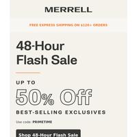 It's Happeninggg: 48-Hour Flash Sale! ⚡