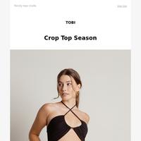 🌞 SUMMER CROP TOPS | Starting At $6 🌞
