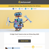 Amazon Prime Day Deals Perfect for DIYers