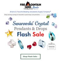 Two Days Only - Swarovski Crystal Flash SALE