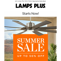 Hot New Prices! Summer Sale Starts Today!