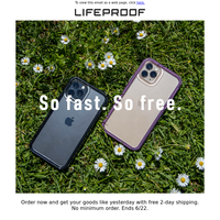 Fast. Free. Shipping.