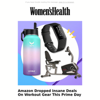Amazon Dropped Insane Deals On Workout Gear This Prime Day