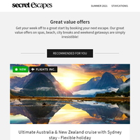 Bucket-list Australia and New Zealand: natural wonders and more