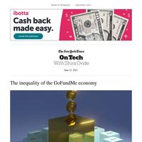 On Tech: The inequality of the GoFundMe economy